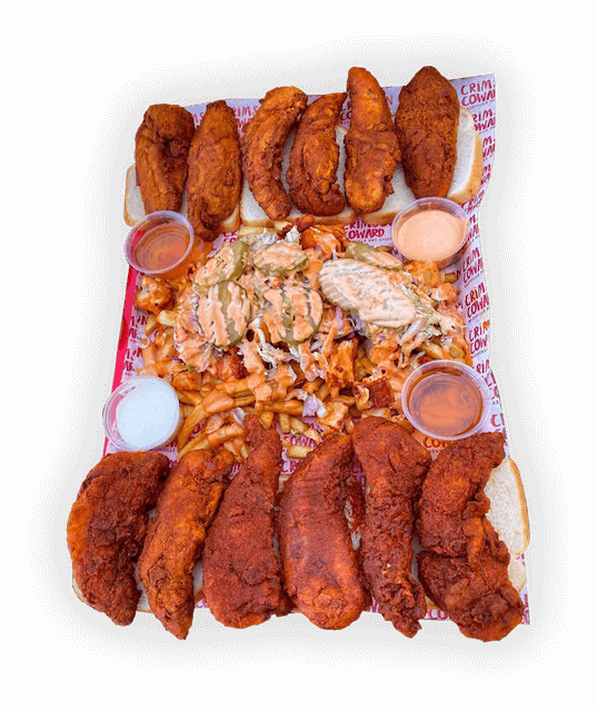 Hot Chicken Tray